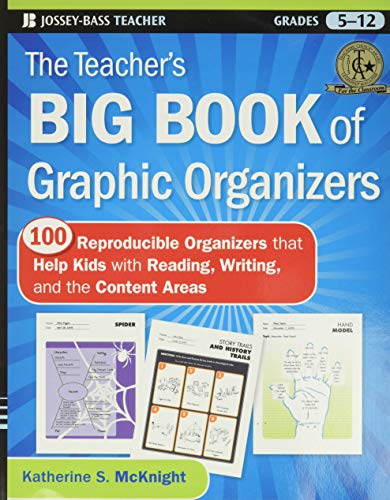 Compare Textbook Prices for The Teacher's Big Book of Graphic Organizers: 100 Reproducible Organizers that Help Kids with Reading, Writing, and the Content Areas 1 Edition ISBN 8601400779903 by McKnight, Katherine S.