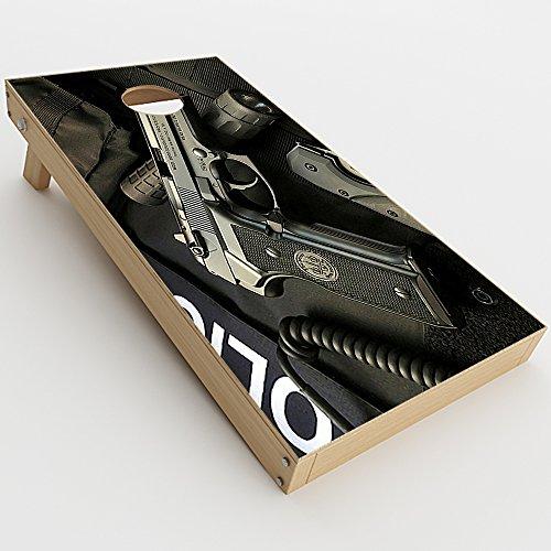 itsaskin Skin Decal Vinyl Wrap for Cornhole Game Board Bag Toss (2xpcs.) Skins Stickers Cover/EDC Pistol Flashlight Knife