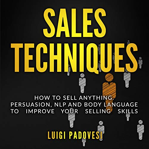Sales Techniques  By  cover art
