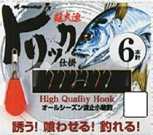 Marufuji(マルフジ) P-016 トリック仕掛6本針 5号