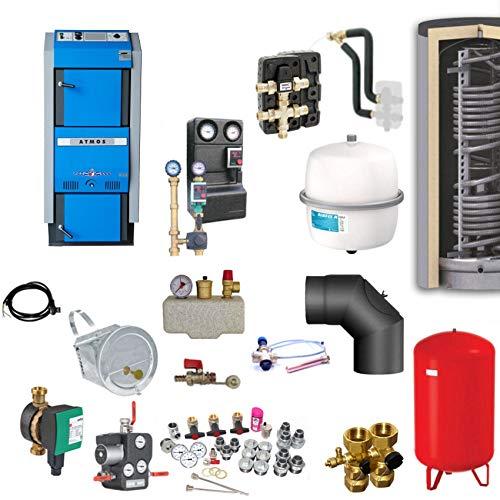 Atmos GSX70 Scheitholzvergaser/Holzvergaser 70 kW Komplettset 5