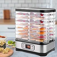 Homdox Temperature Control 8 Trays + 400W Food Dehydrator Machine