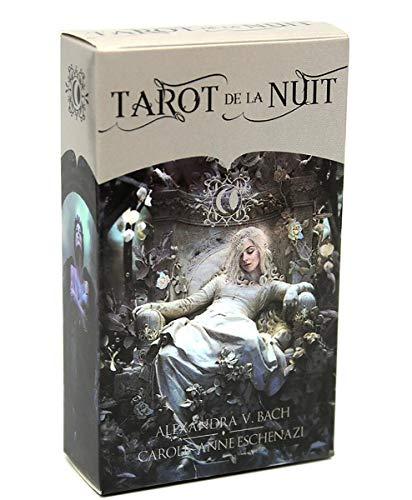 HYXQYYMY Oráculos 78 Cartas (Tarot De La Nuit) Juego De Mesa De...