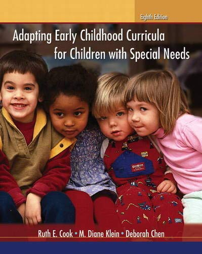 Adapting Early Childhood Curricula for Children with Special Needs (8th Edition)