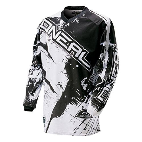 0024S-303 - Oneal Element 2016 Shocker Motocross Trikot M schwarz/weiß