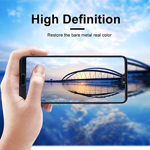 VICKSONGS Schutzfolie für Huawei P20,(3Stück) Ultra Clear Displayschutzfolie (Nicht Glas) Soft Displayschutz [Anti-Bläschen][Anti-Fingerabdruck] Displayfolie Folie Screen Protector für Huawei P20 - 5