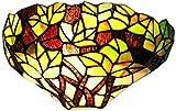 Loxton - Lámpara de pared, diseño de hoja de arce,...