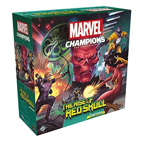 Asmodee Marvel Champions: Das Kartenspiel - The Rise of Red Skull, Szenario Erweiterung, Deckbau, Deutsch