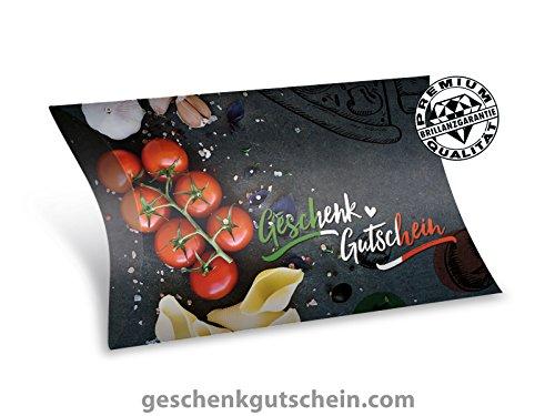 25 Stk. Premium Gutschein Boxen für Italienische Restaurants, Ristorante, Pizza & Pasta G380, LIEFERZEIT 2 bis 4 Werktage !
