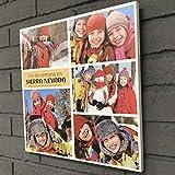 Cuadro en madera natural con impresión calidad fotográfica de tus mejores fotografías (30x30 cm.)