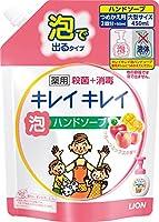 キレイキレイ 薬用泡ハンドソープ フルーツミックスの香り つめかえ用 大型サイズ 450ml ×10個セット