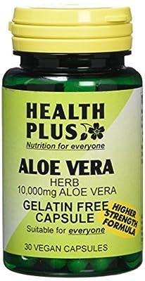 Health Plus Aloe Vera 5000mg Digestive Health Plant Supplement - 30 Gelatin Free Capsules