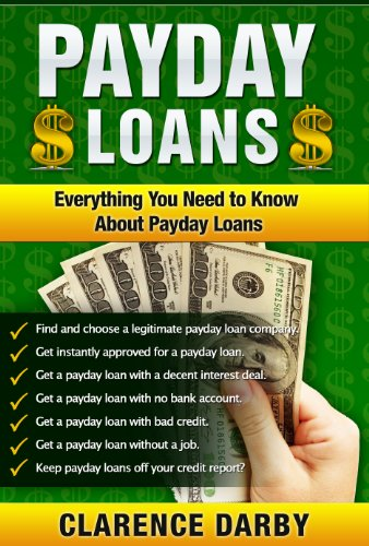 pay day financial products free of bank-account