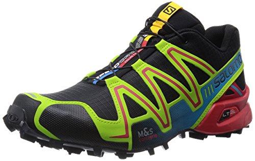 Salomon Speedcross 3 - Zapatillas de Correr en Montaña para Hombre, Black/Granny...