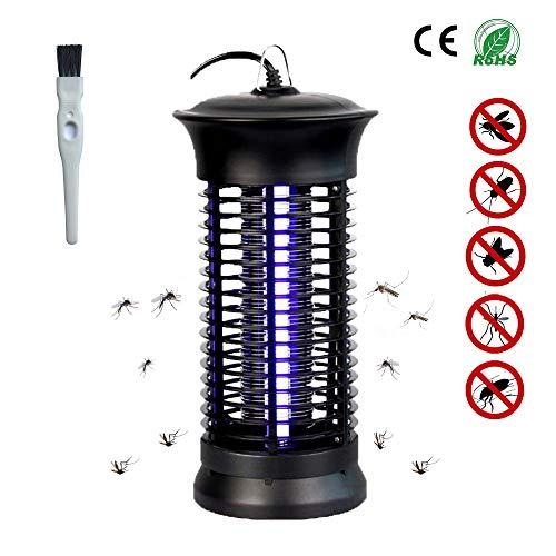 Lacmisc Asesino de Insectos, UV eléctrico Insect Killer, Trampa para Mosquitos de 6 W Protección contra Trampa para Insectos, Trampa para Mosquitos, para 30 m²