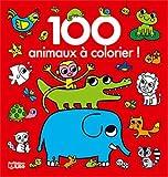 100 images à colorier: Les animaux - Dès 2 ans