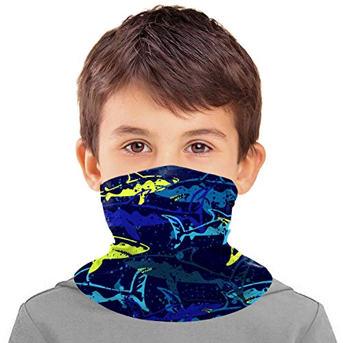 Kids Neck Gaiter Face Covering C...