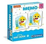 Clementoni - 18101 - Memo Baby Shark