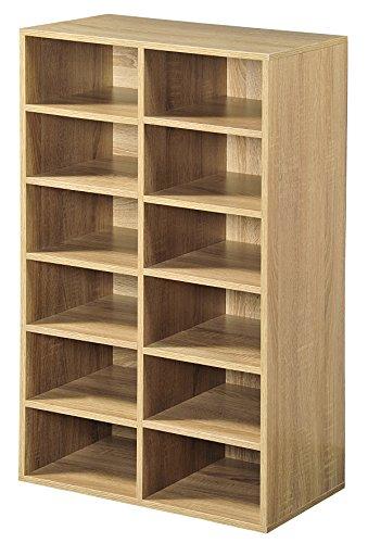 Kesper Universalschrank, Holzdekor, eichefarben, 51.5 x 29.5 x 87 cm