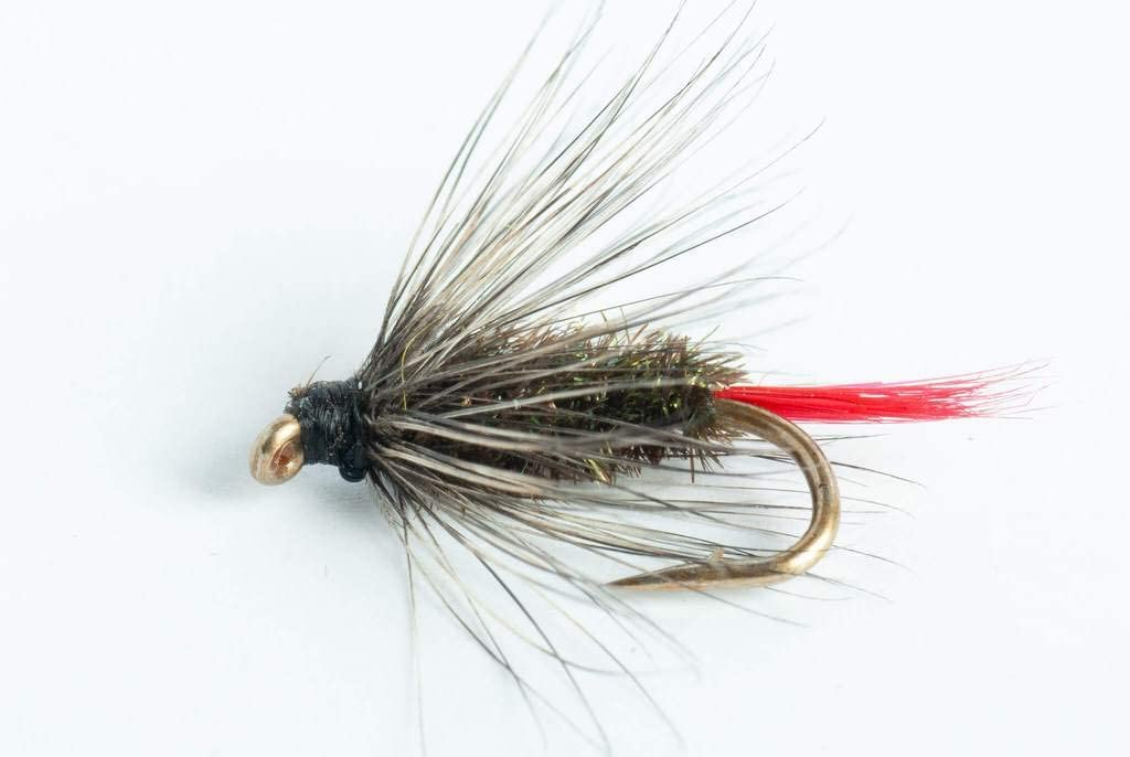 Blue Wing Olive Indianapolis Mall Max 90% OFF Gray Hackle 6-Pack Wet Fly