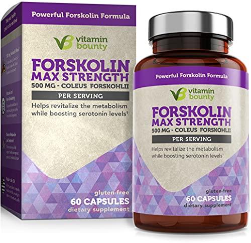 Forskolin - Non GMO, Gluten Free & Made in USA - Coleus Forskohlii...