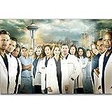JCYMC Leinwand Bild Grey's Anatomy Medizinische