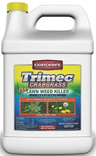 GORDON'S Trimec Crabgrass Plus Lawn Weed Killer Concentrate, 1 Gallon, 761200