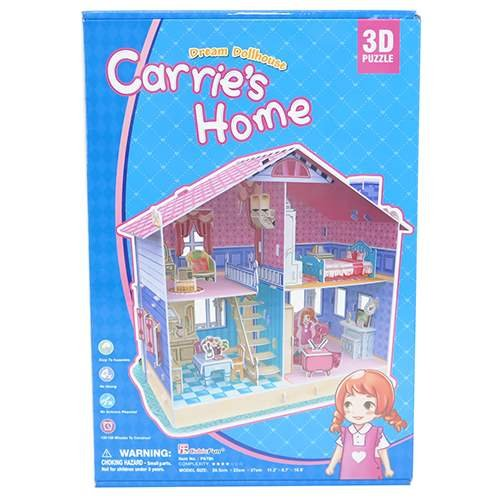 ドールハウス 3D Craft model キャリーズホーム