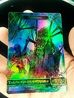 GnD Cards 1x Spider #3 FOIL Laminated Custom Altered Token MTG (for Ishkanah, Grafwidow) Eldritch Moon