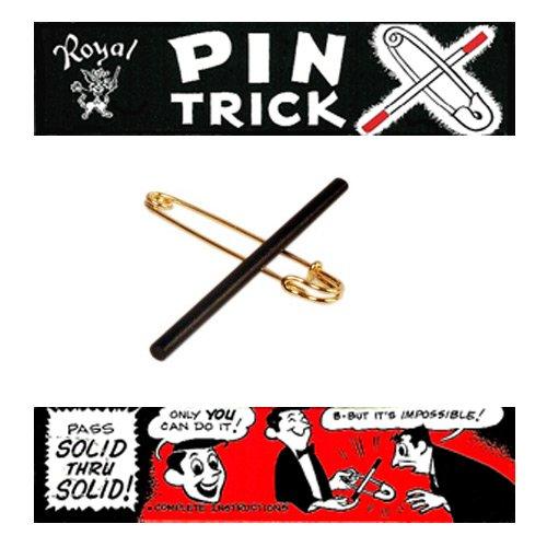 Magie PIN Trick (Tour de Epingle & Baguette)