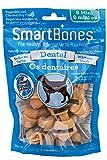 SmartBones SBD-02745FL Dental  Bones for Dogs, 24-count, Mini