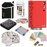 Polaroid Mint Instant Digital Camera (Red) Gift Bundle + Paper (20 Sheets) +