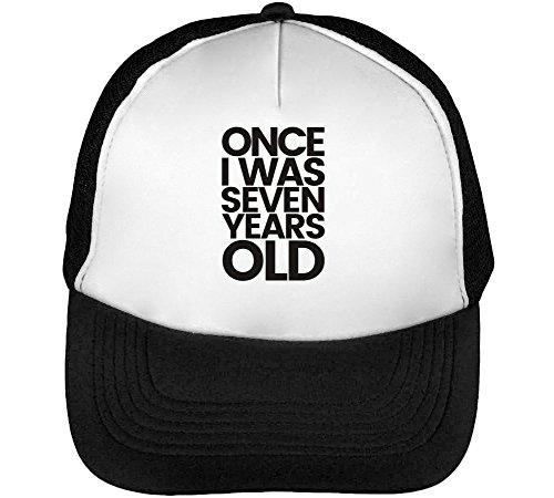 Lukas Graham Men's Baseball Trucker Cap Hat Snapback Black White