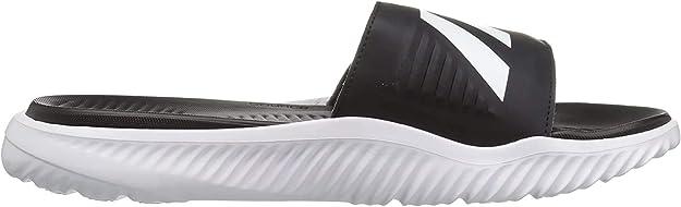 adidas alphabounce slides white