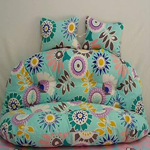 Hangmat, ei-hangmat, stoelkussen, zonder staand zitkussen, dik, katoen, bekleed, nest, hangstoel, rugleuning met kussen