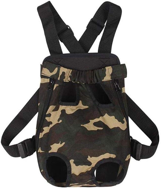 Pet Bag Pet Out Carring Bag Fashion Pett Chest Backpack Shoulder Chest Back ZXMSZ (Colore: B, Dimensione: L)
