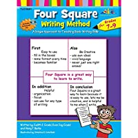 Four Square: Writing Method Grades 7-9 W/Enhanced CD: A Unique Approach to Teaching Basic Writing Skills