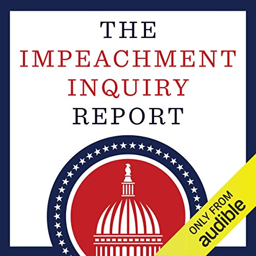 『The Impeachment Inquiry Report』のカバーアート