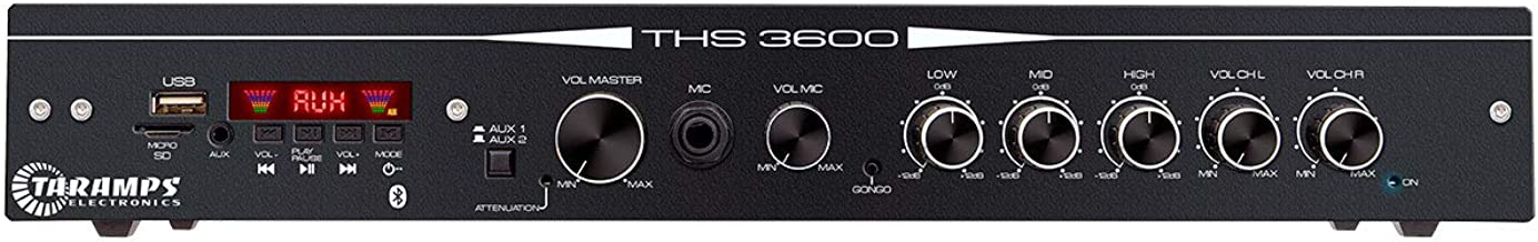 Amplificador Receiver, Taramps, THS 3600, Módulos e