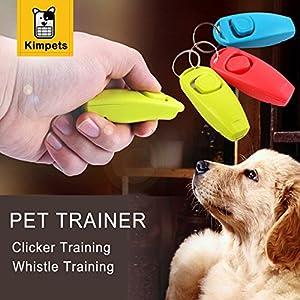 Generic Hot vente pour animal domestique Chien de fournisseurs Intelligence Jouets Pet Clicker Training Trainer Aid Sifflet