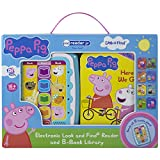 Peppa Pig - Electronic Me Reader Jr and 8 Look and Find Sound Book Library - PI Kids