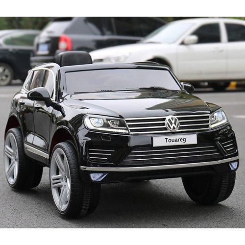 RC Kinderauto kaufen Kinderauto Bild 1: crooza Touareg Touch-Display Bluetooth SoftStart Kinderauto Kinderfahrzeug Kinder Elektroauto SCHWARZ*