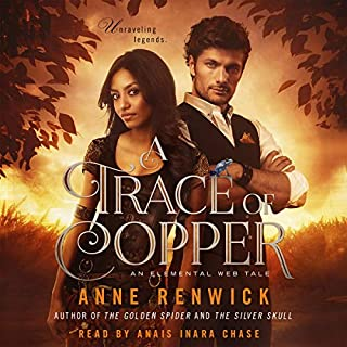 A Trace of Copper audiobook cover art