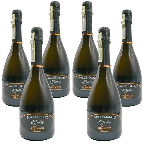 Millesimato CUVEÉ Prosecco Valdobbiadene Superiore DOCG Al Canevon - Offerta 6 Bottiglie