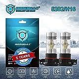 5202 PS24WFF H16 6000K 1427LM CREE LED Faro bombillas Kit de la niebla de la luz de la luz del coche (Type : Def)