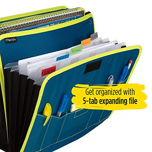 Five Star Sewn Zipper Binder, 2 Inch 3 Ring Binder With 4 Inch Capacity, Assorted Colors, Color Selected For You, 1 Count (28044) Photo #19