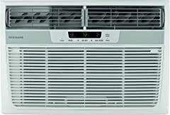 """For a room up to 350 sq. ft. with dehumidification up to 1.5 pints per hour Exterior dimensios: 22-5/8""""W x 23-5/16""""D x 15-3/8"""" H   Window opening: Max. 36""""H Slide-out chasis offers window or wall installation (Window mounting kit included) Multi-spee..."""