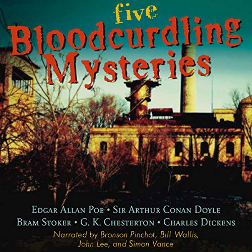 Five Bloodcurdling Mysteries copertina