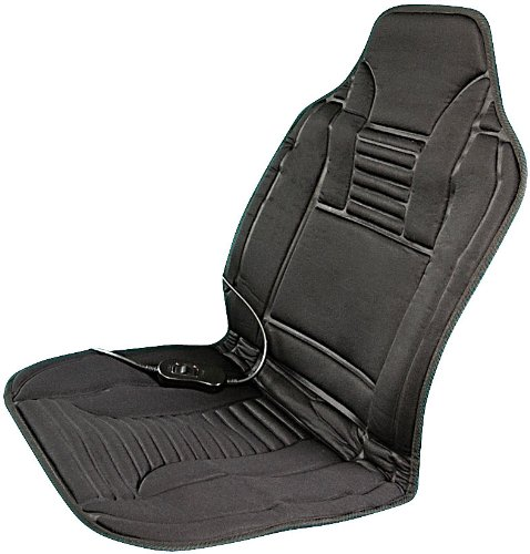 Lescars Sitzheizung: Beheizbare Kfz-Sitzauflage mit Temperaturregler, 12 Volt (Beheizbare Sitzauflage Auto)