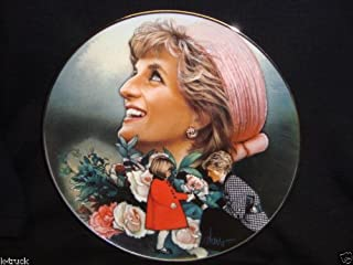 Franklin Mint Collectible Plate -- Princess Diana --